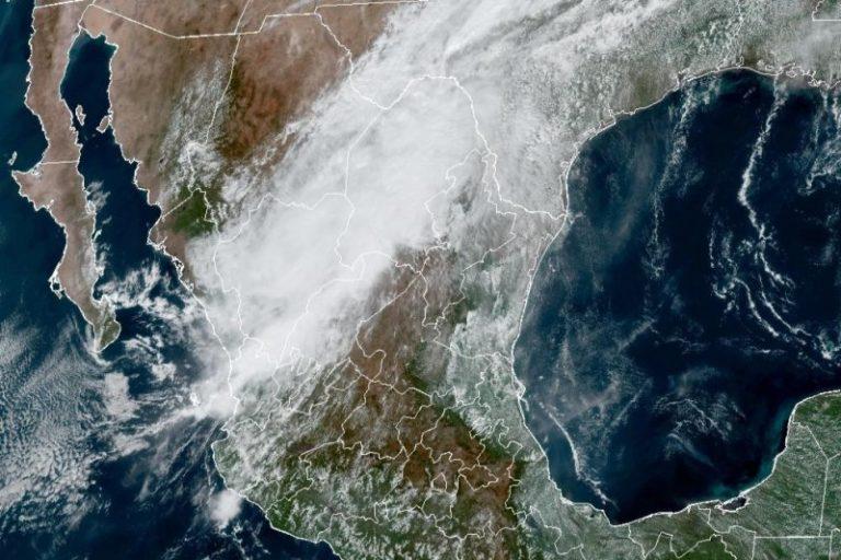 Tropical Storm Pamela producing heavy rainfall as it moves across Mexico