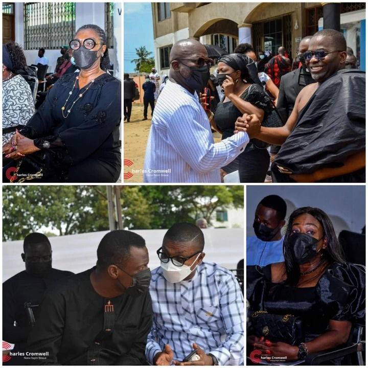 MPs, ministers, others mourn with Charles Bissue [Photos]