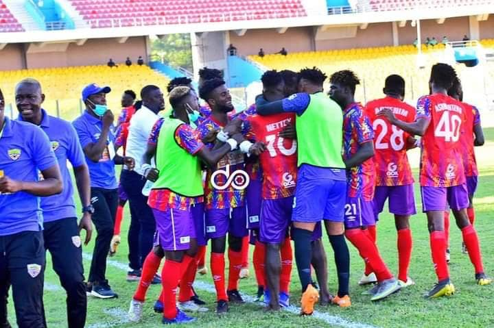 Caf CL: Hearts of Oak record slim win over Wydad in Accra