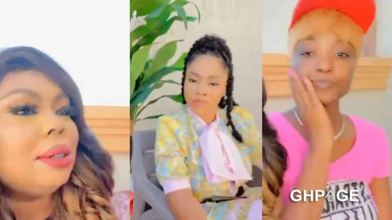 New video of Moesha Boduong chilling with Afia Schwar and Efya pop up
