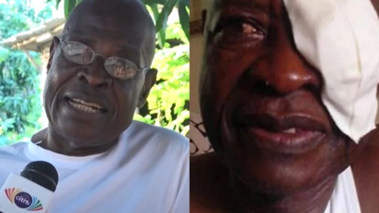Veteran actor William Addo begs Ghanaians for 'nika-nika' to start corn mill business in order to survive » ™