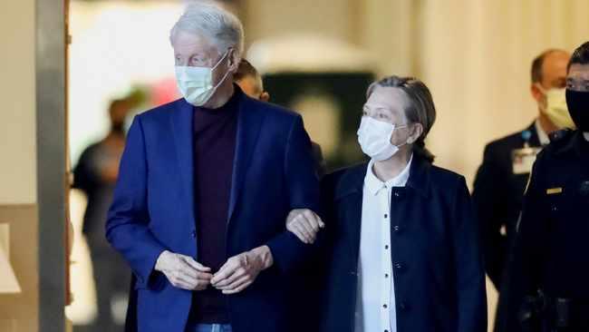 Former US President Bill Clinton leaves hospital, heads to New York