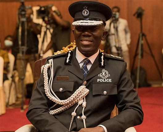 IGP Holds Discussion With Bog Over Banking Sector Security