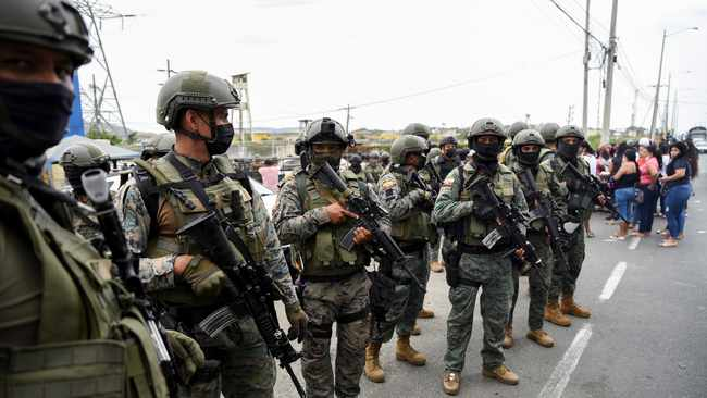 State of emergency declared in Ecuador as drug violence surges