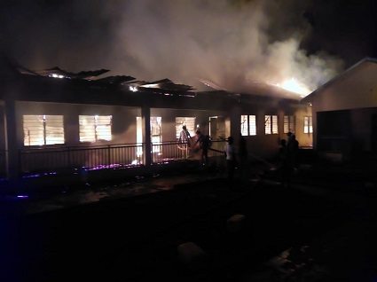 School Dormitory Gutted After WASSCE