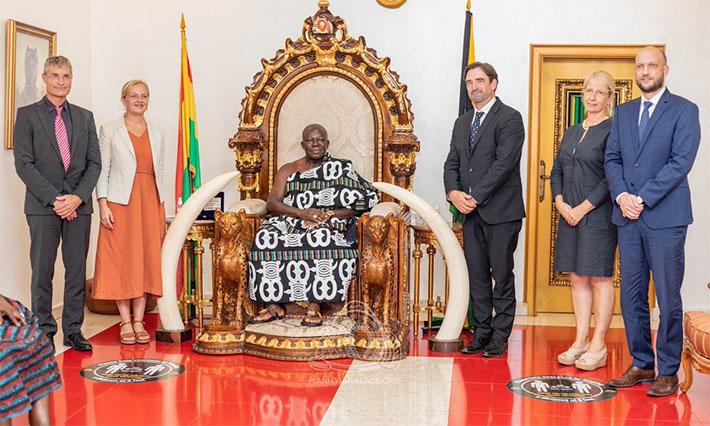 German Envoy Meets Otumfuo –