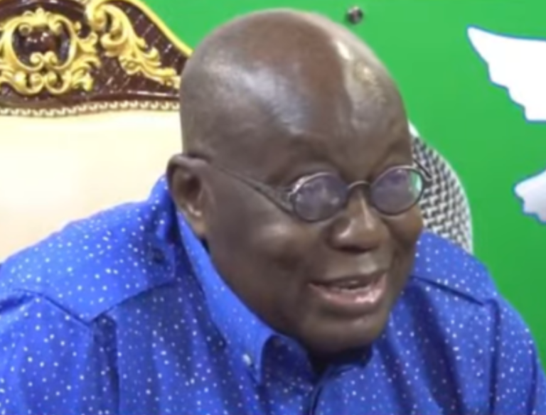 Complete E-block yourself if delay frustrates you – Nana Addo to Aflao chief