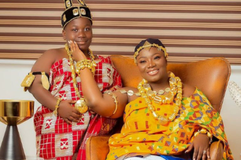 Stacy Amoateng Shares Royal Photos With Cute Son As She Marks His Birthday