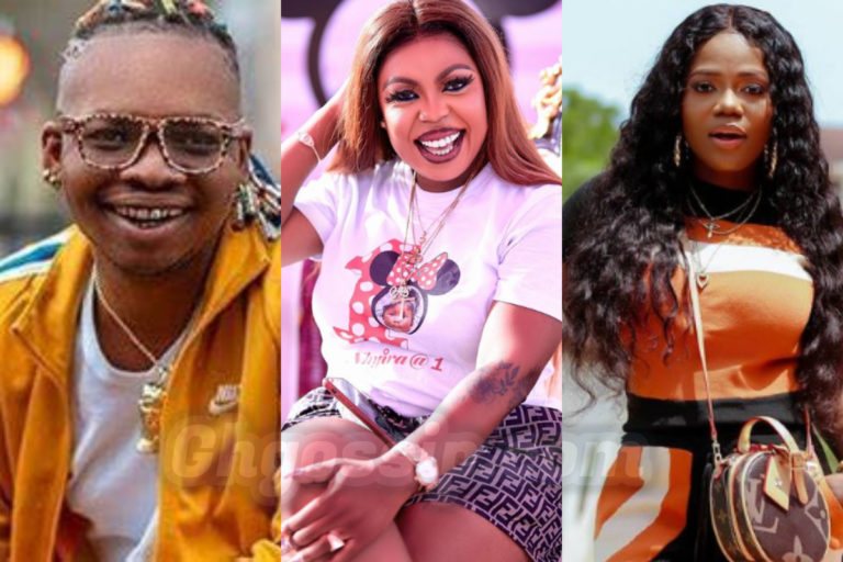 Afia Schwarzenegger Jubilates Over Nana Tornado And Mzbel's Beef After The Ganged Up To Deal With Her [Video]