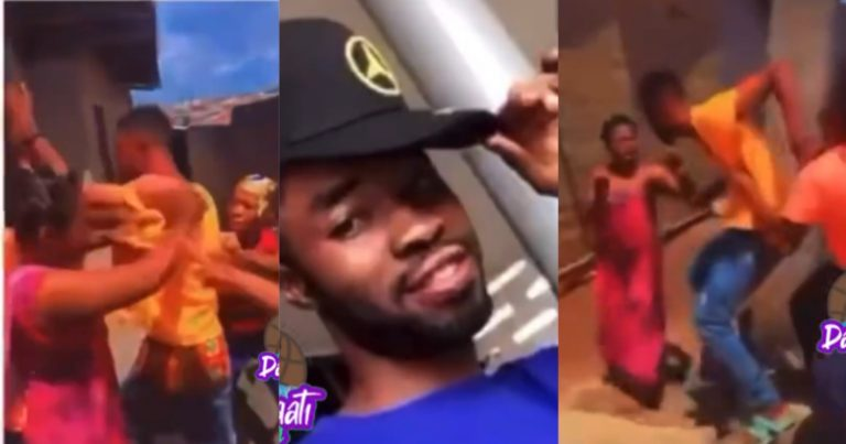 Suspected male gossip receives severe beatings [Video]