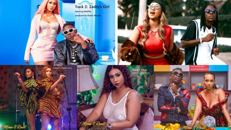 Mona4Reall Features Stonebwoy, Efya, Medikal To Drop 7 Hit Songs