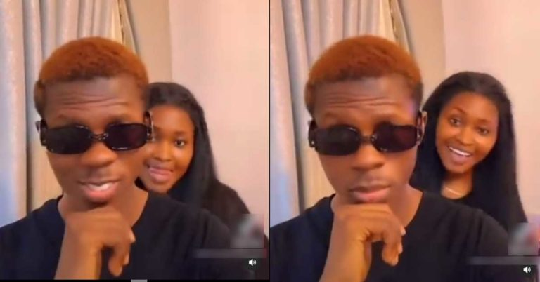 Strongman and girlfriend serve Ghanaians with couple goals as they chop love in new TikTok video » ™