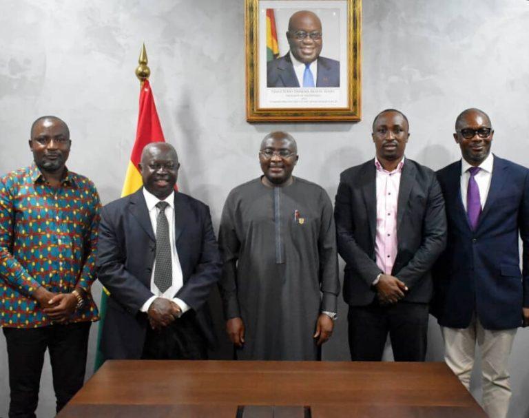 Sports Writers Association of Ghana meets Veep